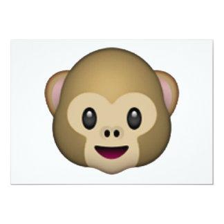 Monkey Face - Emoji Card