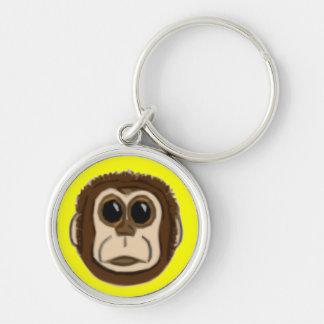 Monkey Face Keychain