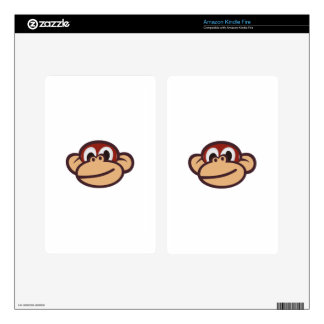 Monkey Face Kindle Fire Skin