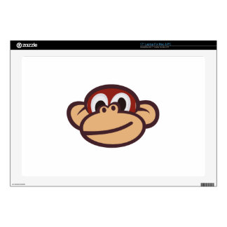 Monkey Face Laptop Decals