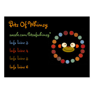 Monkey Face! Large Business Cards (Pack Of 100)