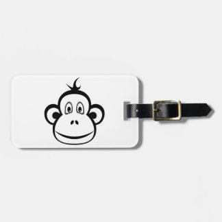 Monkey Face Travel Bag Tags