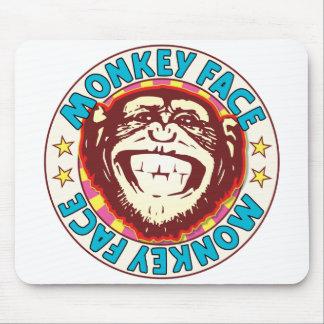 Monkey Face Mouse Pad