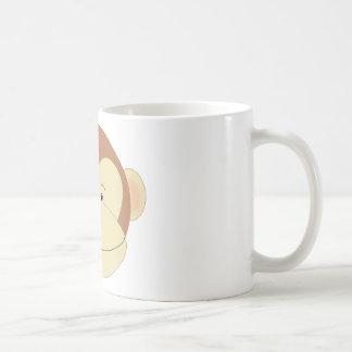 Monkey Face Classic White Coffee Mug