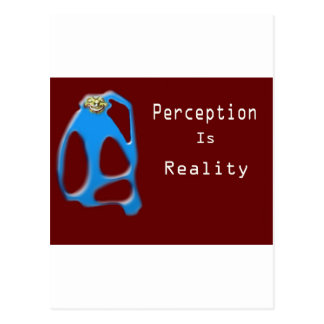 Monkey Face Perception is Reality Postcard