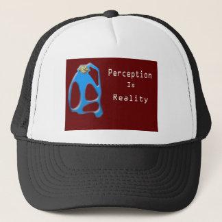 Monkey Face Perception is Reality Trucker Hat