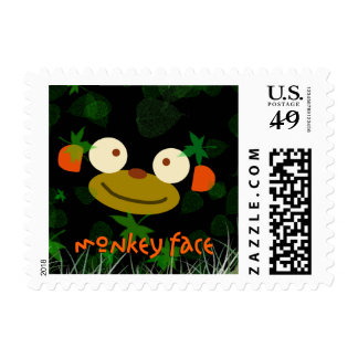 Monkey Face! Postage Stamps