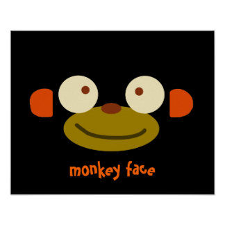 Monkey Face! Posters
