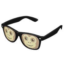 Monkey Face Retro Sunglasses