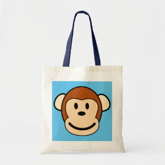 Monkey Face Shopping Tote Budget Tote Bag