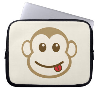Monkey Face Vector Art Computer Sleeves