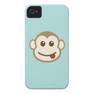 Monkey Face Vector Art iPhone 4 Cover