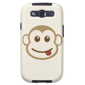 Monkey Face Vector Art Samsung Galaxy SIII Case