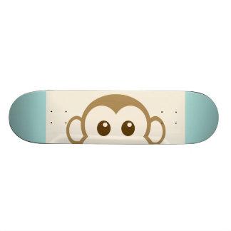 Monkey Face Vector Art Skateboard Deck