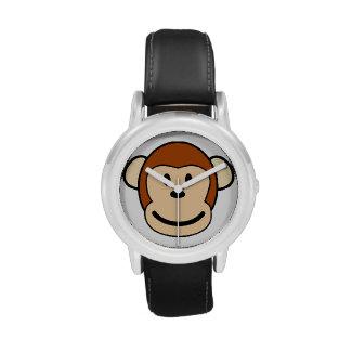 Monkey Face Wristwatch