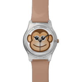 Monkey face watches