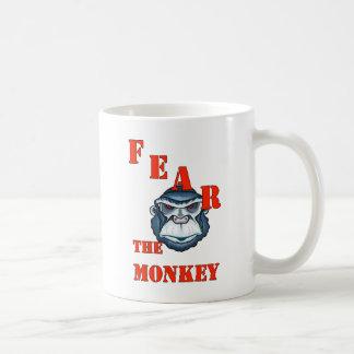 monkey-fear coffee mug