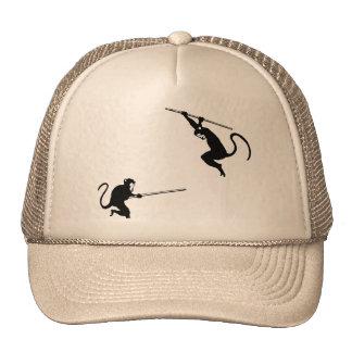 Monkey Fight Trucker Hat