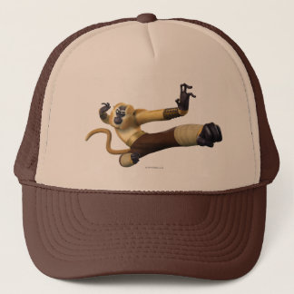 Monkey Fight Pose Trucker Hat