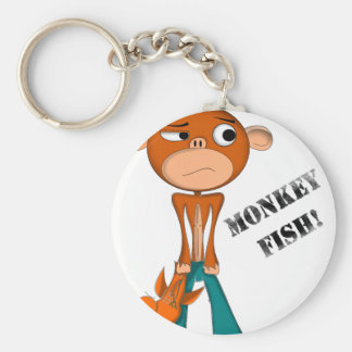 MONKEY-FISH LLAVERO REDONDO TIPO PIN