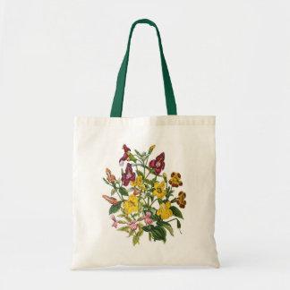 Monkey-flowers Tote Bag