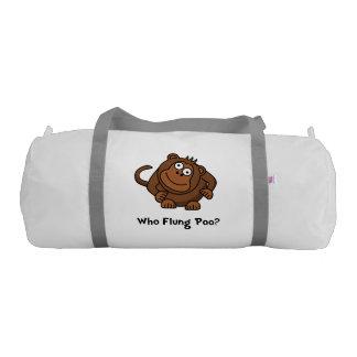 Monkey Flung Poo Gym Duffle Bag