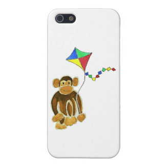 Monkey Flying Kite Cover For iPhone 5