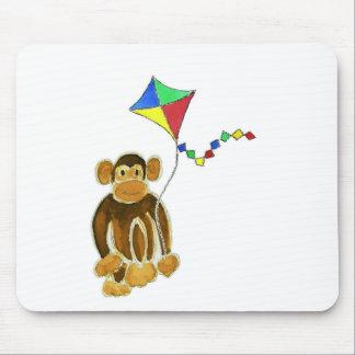 Monkey Flying Kite Mouse Pad