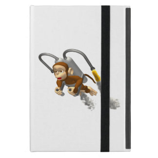 Monkey Flying With Jetpack iPad Mini Case