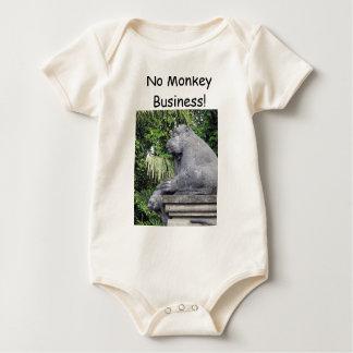 Monkey Forest Gate Baby Bodysuit