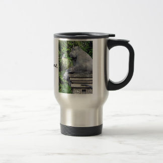 Monkey Forest Gate Travel Mug