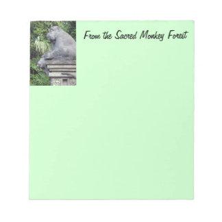 Monkey Forest Notepad