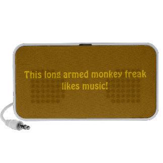 monkey freak PC speakers