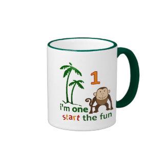Monkey Fun One Ringer Mug