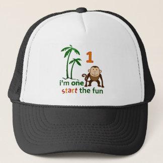 Monkey Fun One Trucker Hat