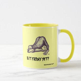 Monkey funny mug design