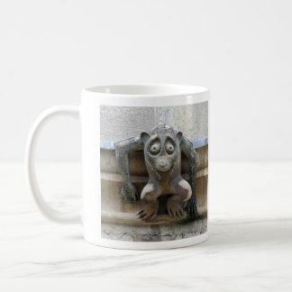 Monkey gargoyles mug