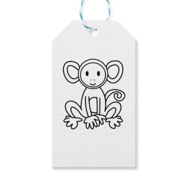 jasmineflynn Monkey Gift Tags