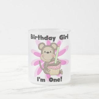 Monkey Girl 1st Birthday Tshirts and Gifts Coffee Mugs