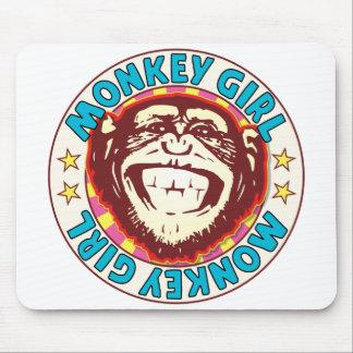 Monkey Girl Mouse Pad