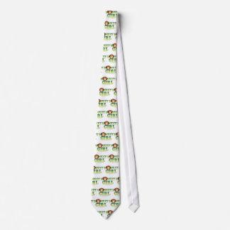 Monkey Girl Neck Tie