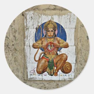 Monkey God Classic Round Sticker