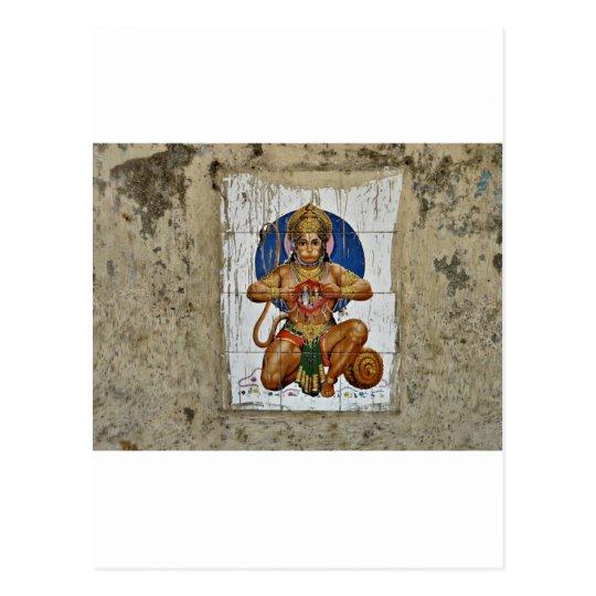 Monkey God Postcard