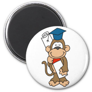 Monkey Graduate Tshirts and Gifts Magnet