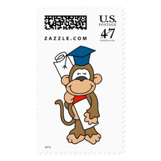 Monkey Graduate Tshirts and Gifts Postage