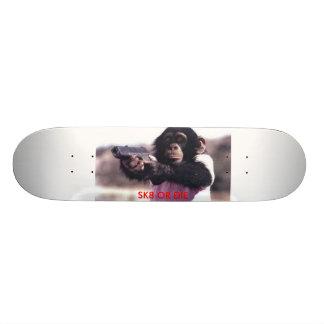 monkey-gun, SK8 OR DIE Skateboard
