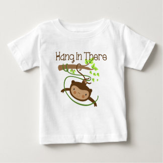 Monkey Hang in There Baby T-Shirt