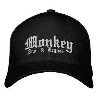 MONKEY (hat) Embroidered Hat