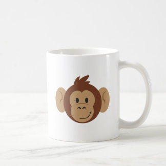 Monkey Head Coffee Mug