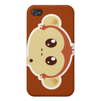 Monkey head iphone case iPhone 4 cover